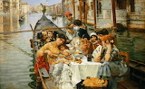 William Logsdail, A Venetian Al Fresco