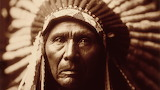Native-american-sepia