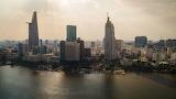 Skyline ho chi minh city vietnam formerly saigon