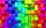 Colourful cubes