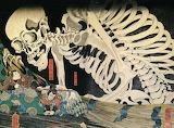 Kuniyoshi skeleton