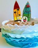 Surfer's cake @ Backfreundin