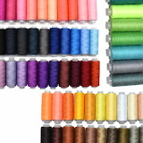Color needle point thread