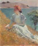 Frank Weston Benson, Margaret Gretchen Strong, 1909