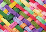 Colorful Thread Weave