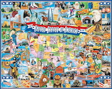 United States of America by James Mellett