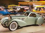 1934 Bugatti Aerolithe reconstuction