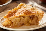 ^ Apple pie slice