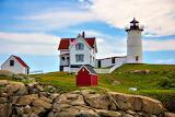 Nubble Lighthouse York Maine USA