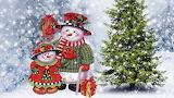 Muñeco en Navidad