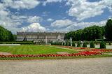 ^ Herrenchiemsee Palace on Herreninsel in lake Chiemsee in Chiem
