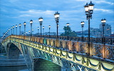 Los faroles del puente Rusia