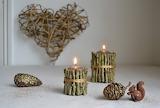 Décoration de Noël bois