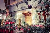 Christmas Dining Room Biltmore Estate North Carolina