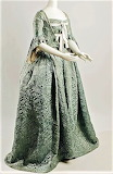 1870s French dress