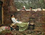 J.W. Waterhouse, Gossip, 1885