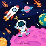 modern astronaut character