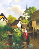 Hungarian Art: Laszlo Neogrady