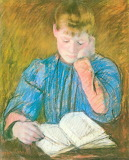 Mary Cassatt, The Pensive Reader, 1894