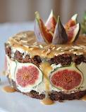 Fig caramel torte