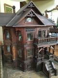 1880's Victorian Dollhouse Mansion