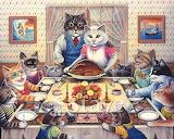 Don Roth 'Feline Feast'