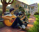 Elvis Graceland Art