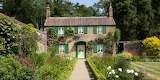English cottage with green shutters inspiration
