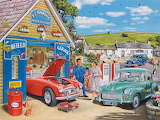 The Village Garage - Trevor Mitchell