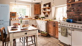 #Vintage Country Kitchen