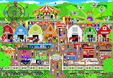 Cartoon County Fair Games