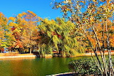 Late Fall Mild Day at the Park Nashville Tennessee USA