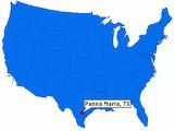 Panna Maria on the map 1