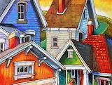 Four houses, Peter Karas