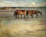 Horses Cooling. Nils Kreuger 1902