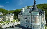 Karlovy Vary,  houses, Cz