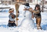winter fun for children