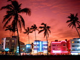 Neon Nightlife, South Beach, Miami, Florida