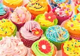 #Bright and Beautiful Cupcakes