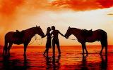 #Kiss at Sunset