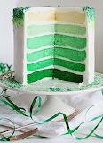 Yummy green cake
