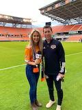 With Dynamo Coach Tab Ramos