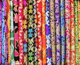 Sarongs for Sale in Ubud-Bali