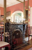 Beautiful Dining Room Fireplace (15 of 26)