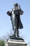 Richard Trevithick Statue, Camborne, Kernow