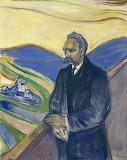 Edvard Munch, Nietzche, 1906