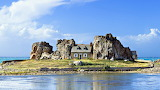 Homes on Island Plougrescant Brittany France