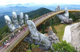 Golden bridge da Nang (Vietnam)