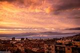 Un tramonto a Trieste (foto di Nadia Pastorcich)