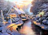 Maison de Noël-imaginaire